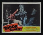 Tobor the Great Orignal Vintage Movie Poster lobby card #3