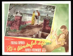 It's a Wonderful Life, James Stewart Lobby Card movie poster 3