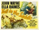 John Wayne Tall in the Saddle half sheet movie poster