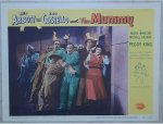 Abbott & Costello Meet the Mummy - original lobby card
