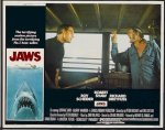 Jaws Original Release lobby card movie poster 1975 3