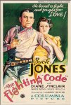Fighting Code Vintage Western Movie Poster One Sheet Buck Jones