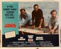 "Jaws 1975 ""same year' re-release lobby card movie poster 1"