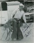 Steve McQueen RARE Oversized Signed Autographed Photograph