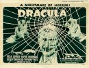 Dracula Original Horror Half Sheet Movie Poster Bela Lugosi
