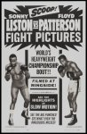 Sonny Liston - Patterson Fight Poster 1963