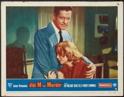 Alfred Hitchcock's Dial M for Murder, 1954, Lobby Card cry