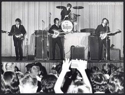 Beatles Original Vintage Photo - Baltimore Civic Center 1964