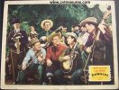 Rawhide, Lou Gehrig vintage lobby card, singing group