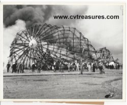 Hindenburg - Historic Photo of burning Hindenburg, 1937 5
