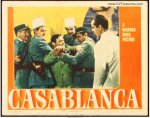Casablanca Original Movie Poster Lobby Card Humphrey Bogart 1942