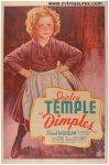 Dimples Original Vintage Movie Poster One Sheet Shirley Temple