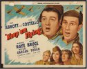 Keep 'Em Flying, Abbott & Costello Vintage Title Card 1941