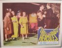 Three Stooges 1960's Meet Hercules, lobby card