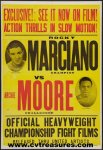 Rocky Marciano vs. Archie Moore Fight Poster 1955