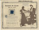 Bonnie & Clyde - Piece of Clyde's death pants