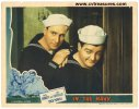 Abbott & Costello In the Navy Lobby Card movie poster Gorgeous!