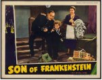 Son of Frankenstein ORIGINAL Vintage Lobby Card Poster Karloff