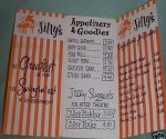 Frank Sinatra Signed Autographed Jilly's Menu - WOW!