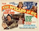 Wizard of OZ Original Vintage Movie Poster Half Sheet