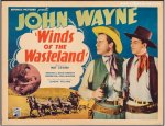 Winds of the Wasteland Vintage Western Movie Poster John Wayne