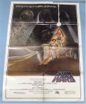 Star Wars Original Vintage Movie Poster One Sheet Style A 1977