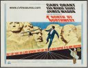 Alfred Hitchcock's North by Northwest Movie Poster half sheet