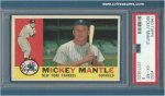 Mickey Mantle PSA EX-MT 6.1960 Topps Card