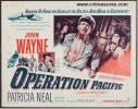 Operation Pacific Original Half Sheet Movie Poster John Wayne