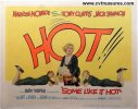 Some Like It Hot Rare Title Card Movie Poster Marilyn Monroe