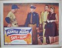 Safe at Home, Mantle & Maris 1961 Original lobby card