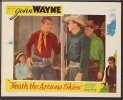 Neath the Arizona Skies, John Wayne Lobby Card movie poster 2