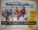 How to Marry a Millionaire, 1953, Marilyn Monroe, Title Card