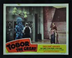 Tobor the Great Orignal Vintage Movie Poster lobby card #4