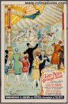Carrousel Amusement Salon French Poster circa 1915-20