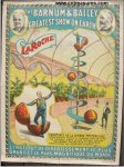 Vintage Circus Poster BARNUM BAILEY LaRoche Mysterious Ball 1896