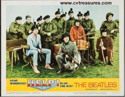 Beatles Help vintage Lobby Card movie poster 1965