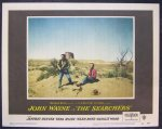 Searchers Original Vintage Lobby Card movie poster John Wayne si