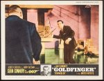 James Bond Goldfinger Vintage Lobby Card Movie Poster Connery