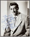 Robert Mitchum Stunning Autographed Signed Photo