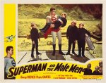 Superman and Mole Men George Reeves BEST lobby card Movie Poster