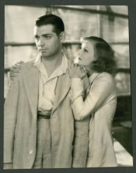 Clark Gable - Greta Garbo 1931 - Original Vintage Photo Stills