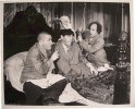 "Three Stooges - Original still photo, 1945, ""Body Meets Body""-2"