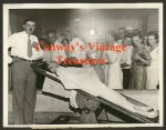 John Dillinger - Original Morgue Scene Wire Service Photo