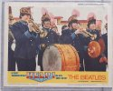Beatles Help Vintage Lobby Card movie poster outside band 1965