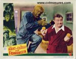 Abbott & Costello Meet Frankenstein Original lobby card 1948 wol