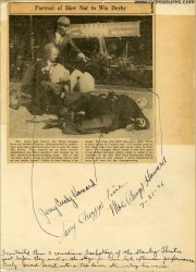 Three Stooges Vintage Authentic Autographs Signed FULL NAMES