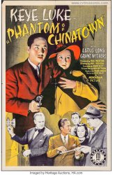 Phantom of Chinatown Original Vintage Movie Poster Keye Luke