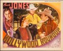 Hollywood Roundup Vintage Lobby Card Movie Poster Buck Jones