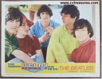 Beatles Help Lobby Card movie poster portrait 1965